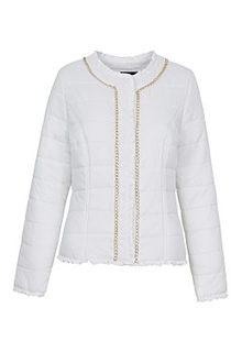 Утепленная куртка с декоративной отделкой Acasta