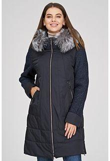 Утепленная куртка с отделкой мехом лисы Laura Bianca