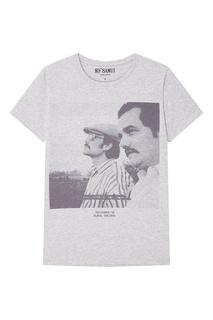 Серая футболка с фотопринтом Plomo KO Samui