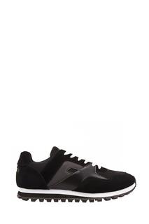 Черно-белые комбинированные кроссовки Fw Dlab