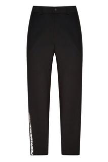 Черные брюки с логотипом Fw Dlab