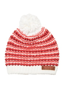 Красно-белая шапка Anamudi Roxy