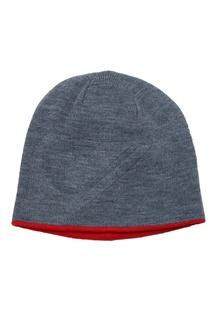 Красно-серая шапка M&W Quiksilver