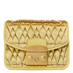 Сумка FURLA METR.COM. MINI C/BODY S.CHAIN желтый