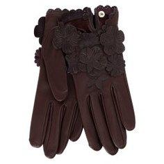 Перчатки AGNELLE RIC_JOSIEFLEUR темно-бордовый