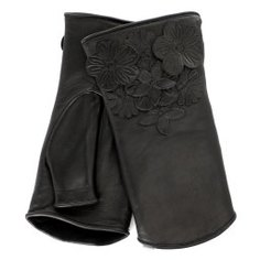 Перчатки AGNELLE PAULINE_FLEUR черный