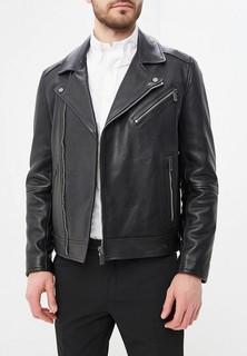 Куртка кожаная Calvin Klein