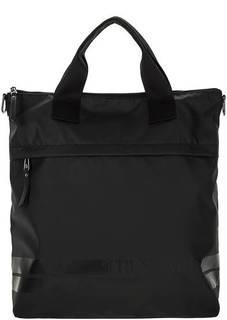 Текстильная сумка с отделением для ноутбука Trussardi Jeans