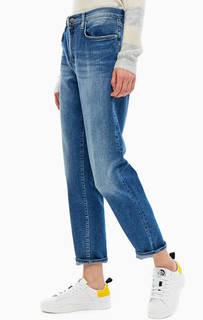 Синие джинсы бойфренд с застежкой на молнию и болт New Juice Gas
