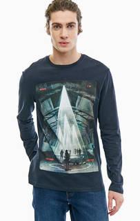 Хлопковая футболка с длинными рукавами Gas