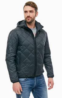 Куртка черного цвета со съемным капюшоном Replay