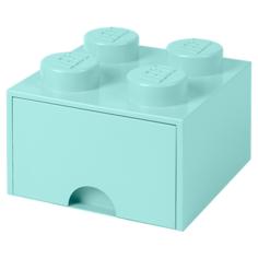 Ящик LEGO 2х2 Knobs с выдвижным