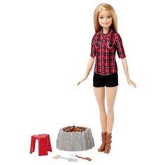 Кукла Barbie У костра 29 см FDB44