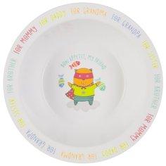 Тарелка Happy Baby глубокая 15016
