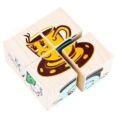 Кубики-пазлы Томик Посуда 3333-4
