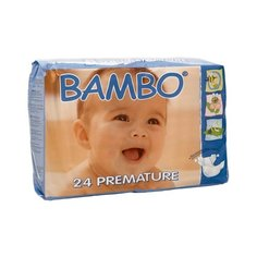 BAMBO подгузники Premature 1-3