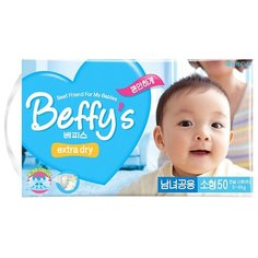 Beffys подгузники Extra Dry S