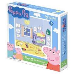 Пазл Origami Peppa Pig Спальня