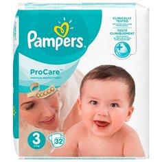 Pampers подгузники ProCare 3