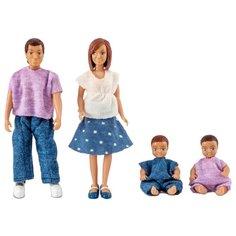Куклы для домика Lundby Семья с