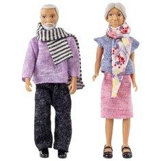 Куклы для домика Lundby бабушка