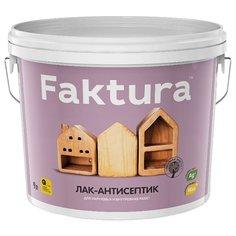 Лак Faktura Лак-антисептик 9 л