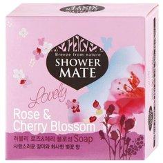 Мыло кусковое Shower Mate Rose