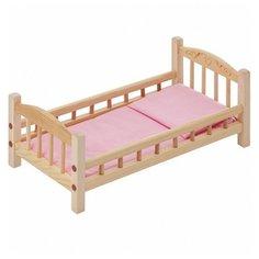 PAREMO Кроватка для куклы с