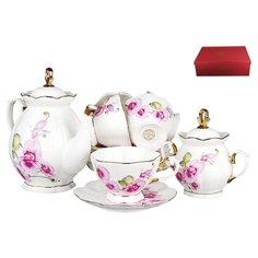 Чайный сервиз Коралл Орхидея