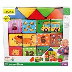 Кубики-пазлы Ks Kids Learning