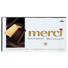 Шоколад Merci горький порционный ..,Merci