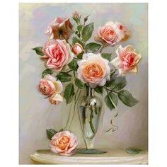 Molly Картина по номерам Розы в