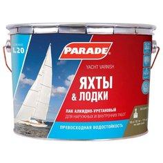 Лак Parade L20 Яхты & Лодки
