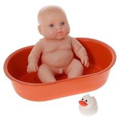 Кукла Весна Карапуз в ванночке