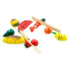 Набор продуктов с посудой Игрушки из дерева