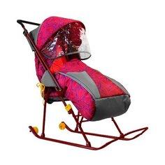 Санки-коляска Galaxy Снежинка