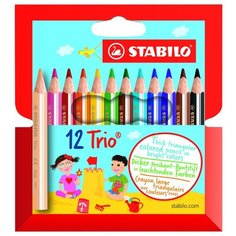 STABILO Цветные карандаши Trio