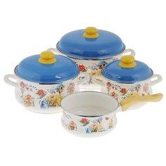 Набор посуды METROT Дача 137023
