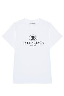 Хлопковая футболка BB Mode Balenciaga