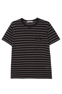 Полосатая футболка Alexanderwang.T