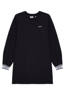 Черное платье-свитшот Levis®