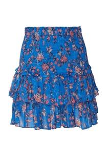 Мини-юбка с цветочным принтом Naomi Isabel Marant Etoile
