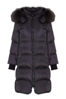 Черная куртка с мехом Tatras