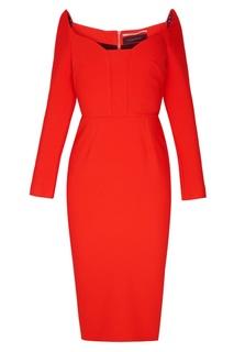 55a9b0d5c30 Красное платье-футляр Ardon Roland Mouret