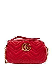 Красная сумка GG Marmont Gucci
