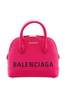 Розовая сумка Ville XS Balenciaga