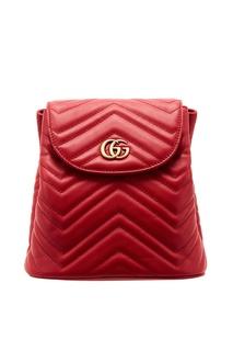 Красный рюкзак GG Marmont Gucci
