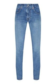 Узкие голубые джинсы Balenciaga
