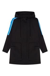 Черная с голубым куртка Mario Sandro