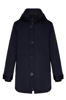 Утепленная темно-синяя куртка Papermint